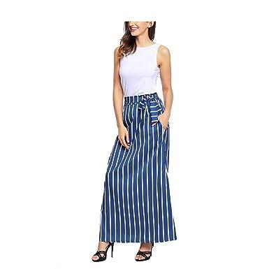 Faldas para Mujer Casual Moda De Único Verano Falda para Mujer ...