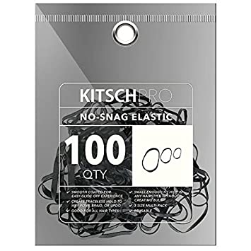 Amazon.com   Kitsch Pro No Snag Mini Gummy Elastic Hair Bands For Hair  Styling b425833e935