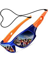 Kids Hot TR90 Polarized Sports Sunglasses For Boys Girls Child Age 3-12