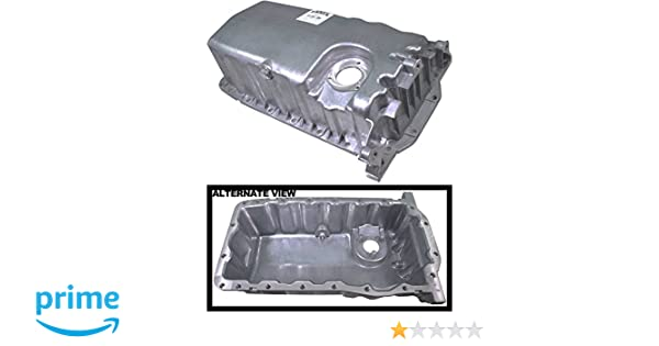 Fits Models With Oil Level Sensor; Replaces VW 038103601NA APDTY 133637 Engine Oil Pan Aluminum Assembly w//Drain Plug