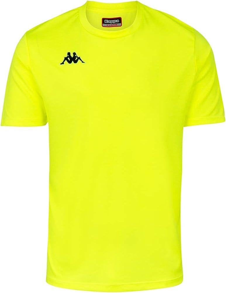 partido Democrático subterraneo monitor  Kappa Rovigo SS Camiseta de equipación, Hombre, Amarillo Fluor/Negro, M:  Amazon.es: Ropa y accesorios