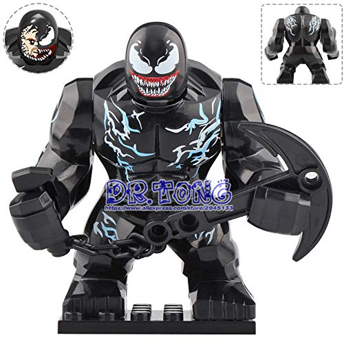 Marvel Super Heroes Riot Thanos Venom Carnage Green Lantern Action Figure Building Blocks Toys for Children XH1047 XH893