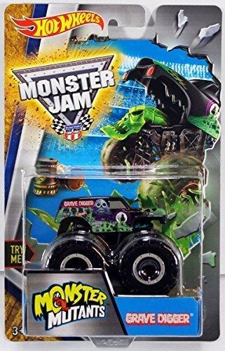 Hot Wheels Monster Jam Mutants Truck - Grave Digger by Hot W