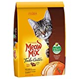 Cat Dry Skin Meow Mix Tender Centers Salmon & Turkey Flavors with Vitality Bursts Dry Cat Food, 13.5 lb