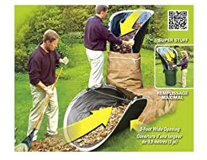 Amazon Com Yard Loader The Lawn Funnel For Paper Bags