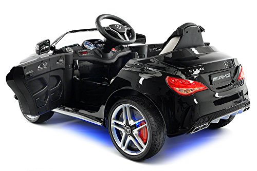 2018 mercedes benz cla 12v powered ride on motorized toy for Mercedes benz service charges