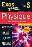 Exos résolus - Physique Terminale S - Enseignement obligatoire et de spécialité
