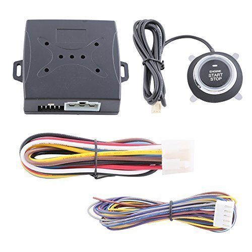 Universal Smart Key Remote Engine Start Module with Push Button Start Stop Can Work with Original Key Dc12v