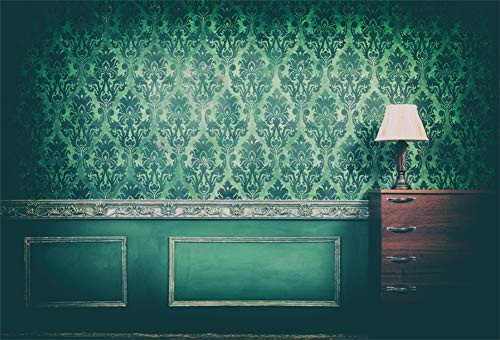 Yeele 10x8ft Vintage Room Interior Backdrop for Photography Antique Green Rococo Old Wall Background Kids Adult Photo Booth Shoot Vinyl Studio Props