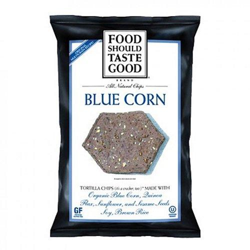 Food Should Taste Good Tortilla Chips, Blue Corn, 1.5-Oun...
