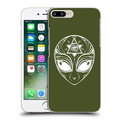 GoGoMobile Coque de Protection TPU Silicone Case pour // Q09010605 extraterrestre 2 armée verte // Apple iPhone 7 PLUS