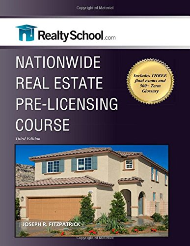 NATIONWIDE REAL ESTATE PRE-LICENSING COUSE:  Third Edition