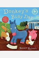 Donkeys Busy Day Paperback