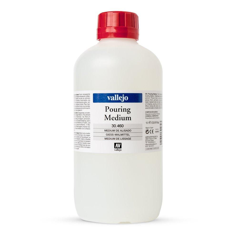 Vallejo : Pouring Medium : 1000ml Acrylicos Vallejo