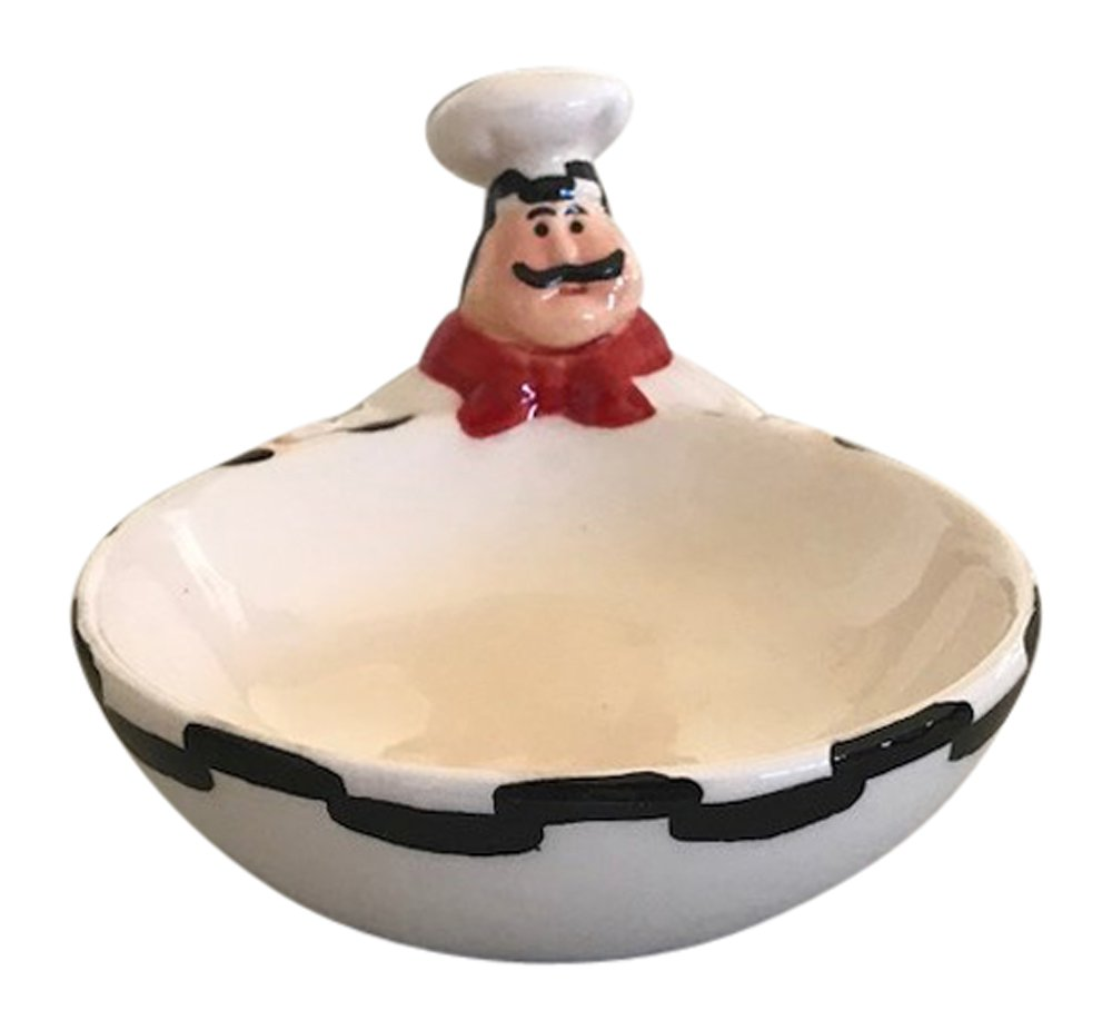 Chubby Chef Ceramic Candy Dish