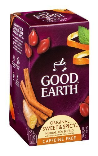 Good Earth Tea Orgnl Swt&Spcy Decaf Blend