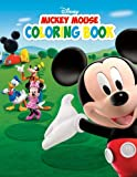 Disney Mickey Mouse Coloring Book: Great Activity Book For Your Children