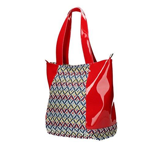 Rosso Bs012 Bag Melluso Donna Shopping Borsa gqwCB1