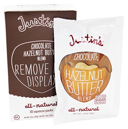 Justin's Nut Butter Squeeze Pack Chocolate Hazelnut -- 1.15 oz