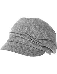 3aab73b7934 Womens Newsboy Cabbie Beret Cap Cloche Cotton Painter Visor Hats Summer