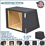 15'' single sealed Solo baric Hatchback speaker box