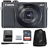 Canon G9x Mark II Digital Camera Bundle (Black) + Canon PowerShot G9 x Mark II Basic Accessory Kit - Including EVERYTHING You Need To Get Started