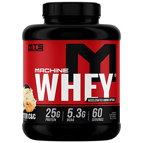 Peanut Butter Block - MTS Machine Whey Protein 5lbs. - Peanut Butter Cookies & Cream