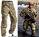 (US) Men Military Army Tactical Series Airsoft Paintball Hunting Uniform Combat BDU Pants Multicam Size S,M,L,XL,XXL (L)