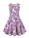 Unicorn Gifts Unicorn Dresses for Little Girls Purple 4