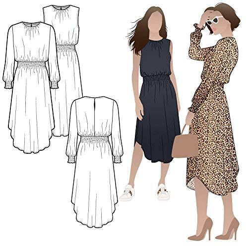 Style Arc Sewing Pattern - Asha Dress