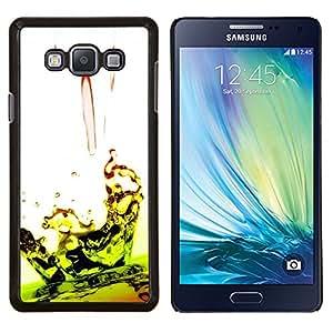 Stuss Case / Funda Carcasa protectora - Caída Ripple Lime Green White - Samsung Galaxy A7 ( A7000 )