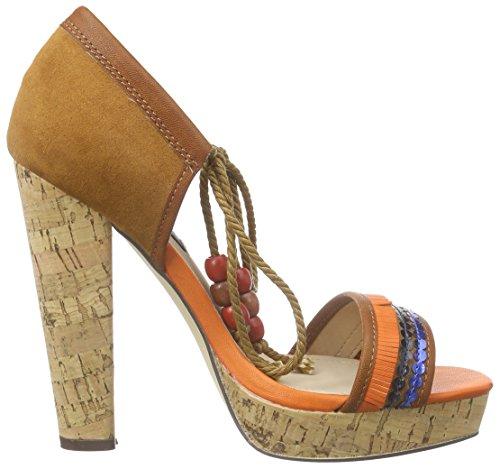 Blink Blilianl - Sandalias con plataforma Mujer Marrón - Braun (21 Mid brown)