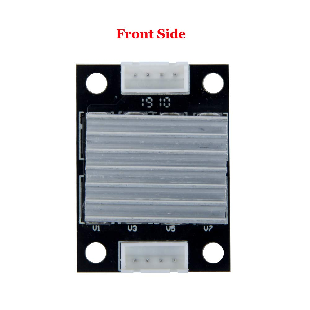 TeOhk TL-Smoother Kit M/ódulo adicional con cables de puente de disipador de calor MK8 para eliminar la se/ñal de onda desigual Impresora 3D Controlador del controlador del motor