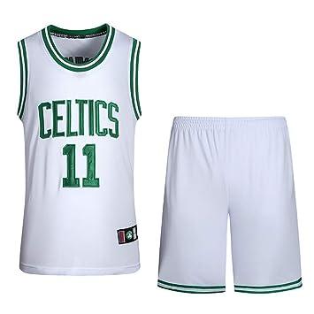 SansFin NBA Celtics Camiseta Owen Shorts número 11 de Baloncesto: Amazon.es: Deportes y aire libre
