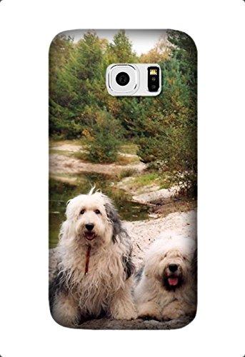 Samsung Galaxy C5 Case -English Sheepdog 2 Soft TPU Rubber Silicone Case Cover Samsung Galaxy C5