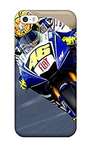 Iphone 5/5s Case Cover - Slim Fit Tpu Protector Shock Absorbent Case (valentino Rossi Gp Earth )