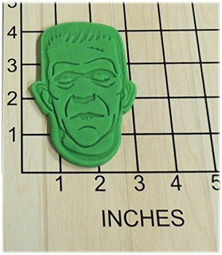 Halloween Frankenstein Fondant Cookie Cutter and Stamp #1371]()