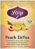 Yogi Organic Peach Detox Tea, 16 ct