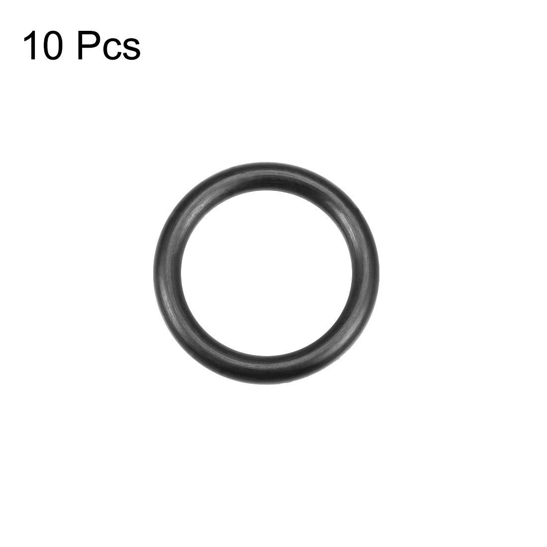 O-Ringe Nitrilkautschuk 6mm-32mm Innendurchmesser 2,5mm Breite Runddichtung 29 mm x 34 mm x 2,5 mm sourcing map 10Stk