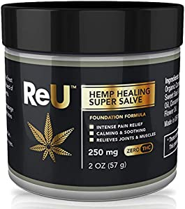 Sweepstakes: ReU Hemp Healing Pain Relief Salve – 250MG…