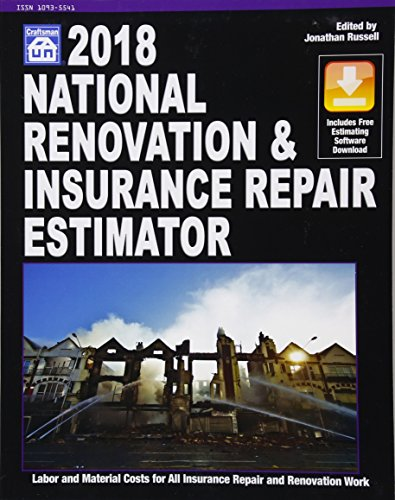 National Renovation & Insurance Repair Estimator 2018 (National Renovation and Insurance Repair Estimator) by Craftsman Book Co