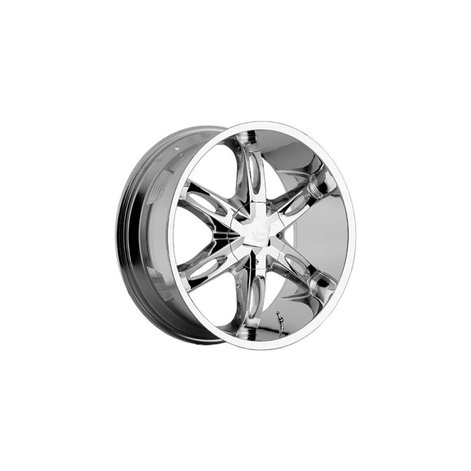 VISION WHEEL   436 hollywood 6   26 Inch Rim x 9.5   (5x4.5/5x4.75) Offset (15) Wheel Finish   Chrome Automotive