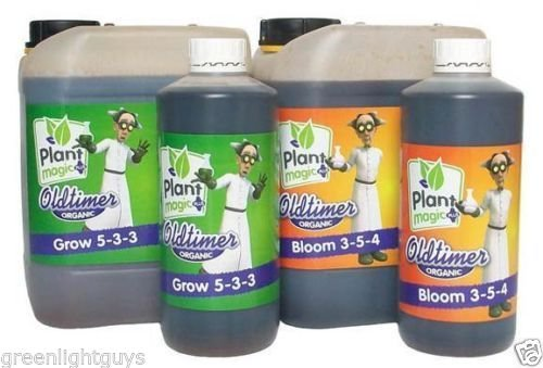 Plant Magic Old Timer Bloom 5 Liter & Plant Magic Old Timer Grow 5 Liter