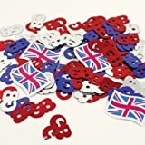 Amscan Pride Passion Party GB Confetti Accessory