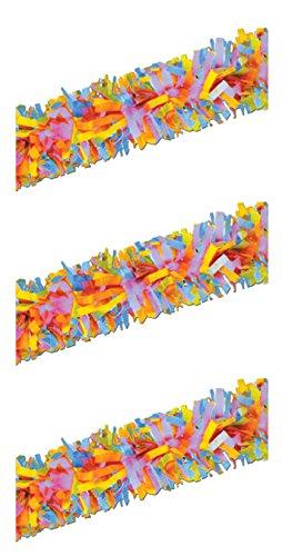 Beistle S55599MCAZ3, 3 Piece Tissue Festooning, 25' -