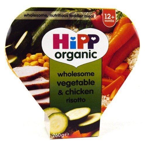 Hipp 1 Year Vegetable & Chicken Risotto Tray 260g by HiPP Organic