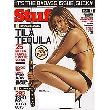 Stuff Magazine April, 2006-My space: Tila Tequila Cover and pictorial, Jennifer Ellison, Jakki Degg-20 Greatest Old-School Wrestlers