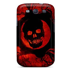First-class Case Cover For Galaxy S3 Dual Protection Cover Gears Of War 3