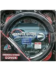 Car Steering Wheel Cover - Black , 2724737476843