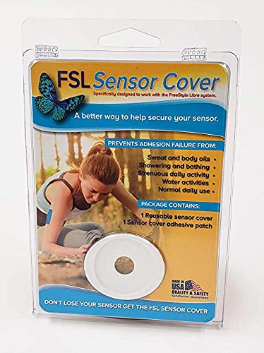 - Freestyle Libre Sensor Cover | Hard, Durable | All Purpose USE from Sports to Shower| | FSL SENSOR COVER